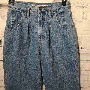 Denim - Vintage High Waisted Jeans  Mom Jeans Jr's 11/12